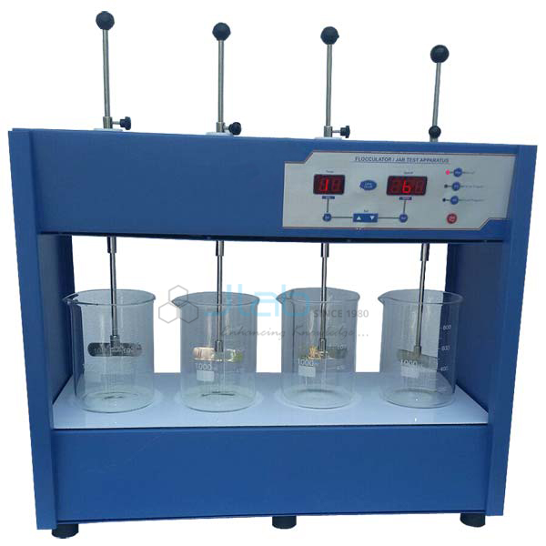 Flocculator Jar Test Apparatus