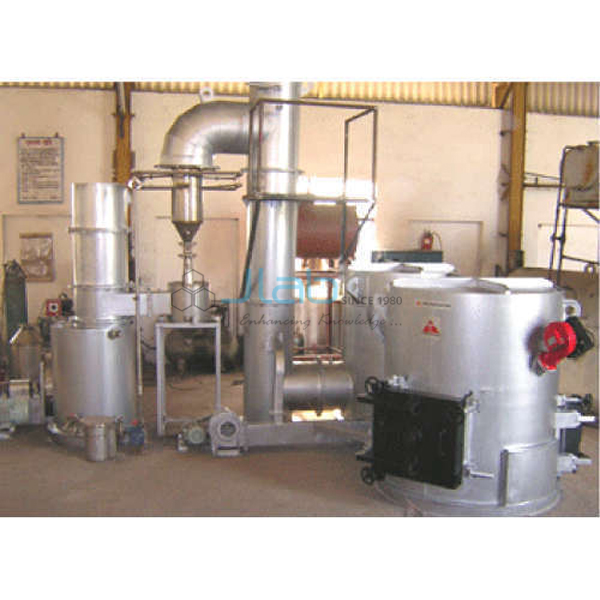 Electrical Incinerator With Scrubber