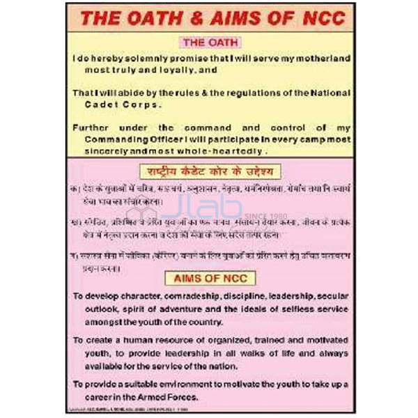 Army, Police and NCC Charts