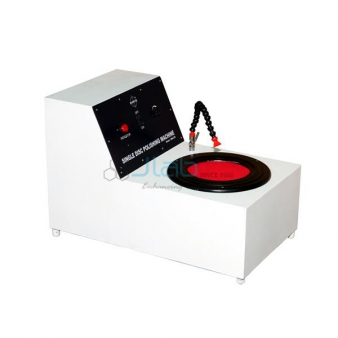Single Disc Polishing Machine with controller For Metallurgical Lab