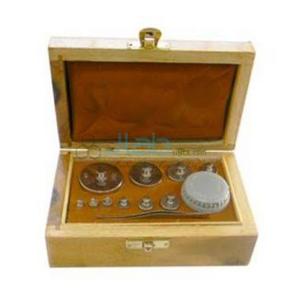 Physical Weight Boxes Brass CP JLab