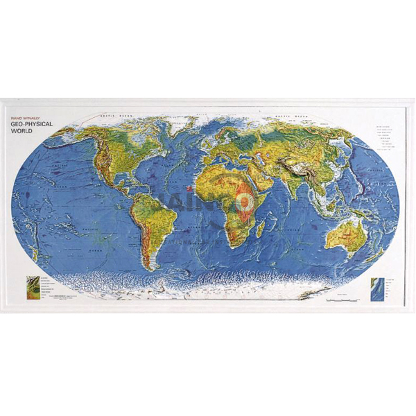 Geo Physical World Map India Geo Physical World Map Manufacturer