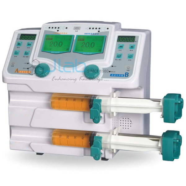 Syringe Pump Dual Channel