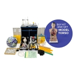 CAPS Natural Science and Technology kit plus model torso