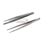 Forceps, Stainless Steel Straight Fine Point