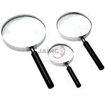 Reading Glass Magnifier Metal Frame 6/20 cm